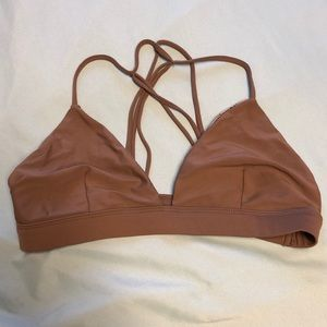Acacia swimwear awapuhi top in opihi